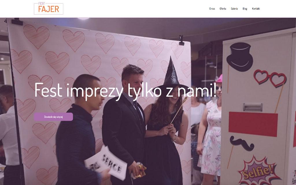 FestFajer - strona internetowa