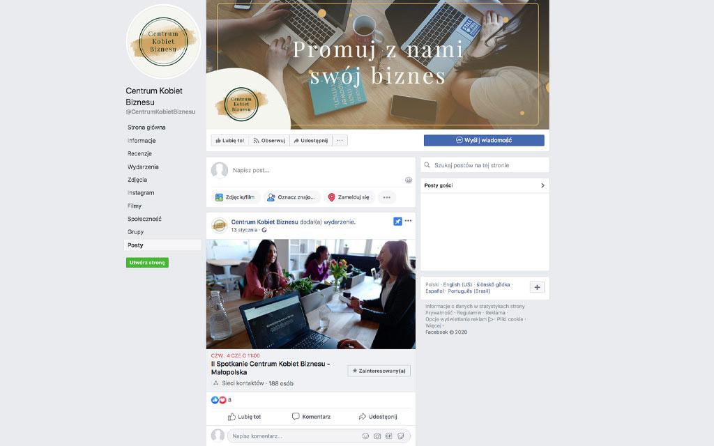 Centrum Kobiet Biznesu - Facebook