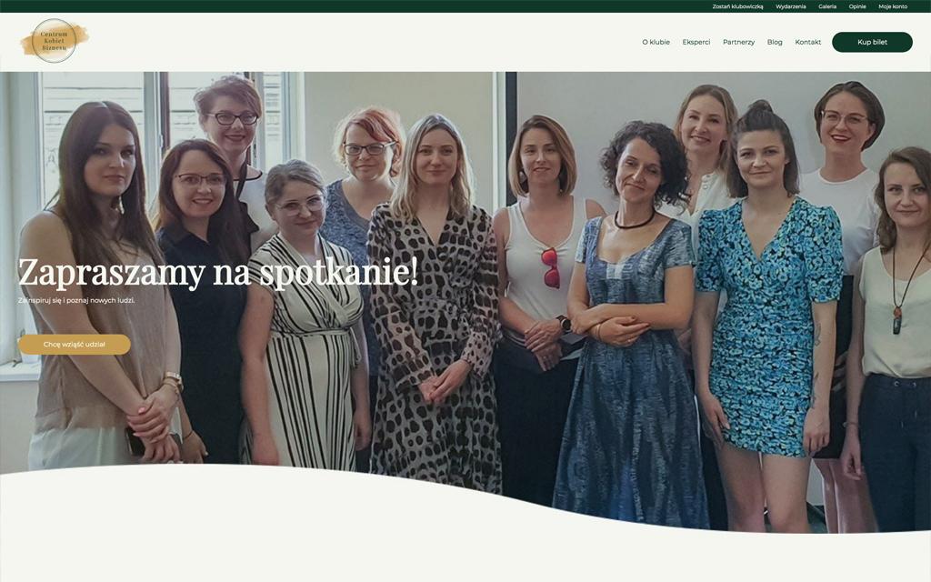 Centrum Kobiet Biznesu - strona